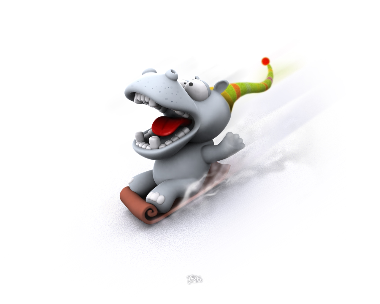 Fun Plannet funny 3d wallpapers 1280x1024