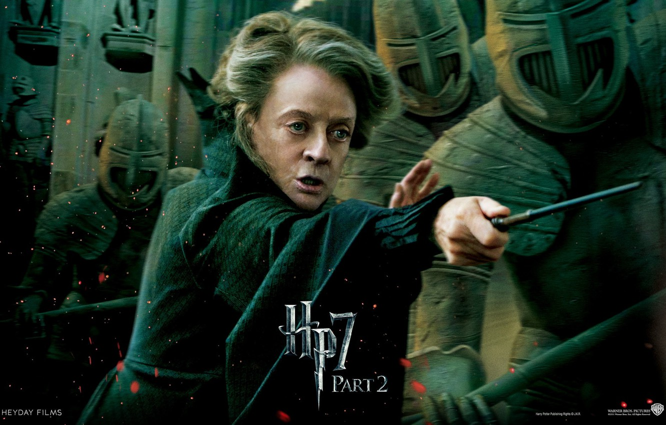 Wallpaper warriors Harry Potter and The Deathly Hallows part 2 1332x850