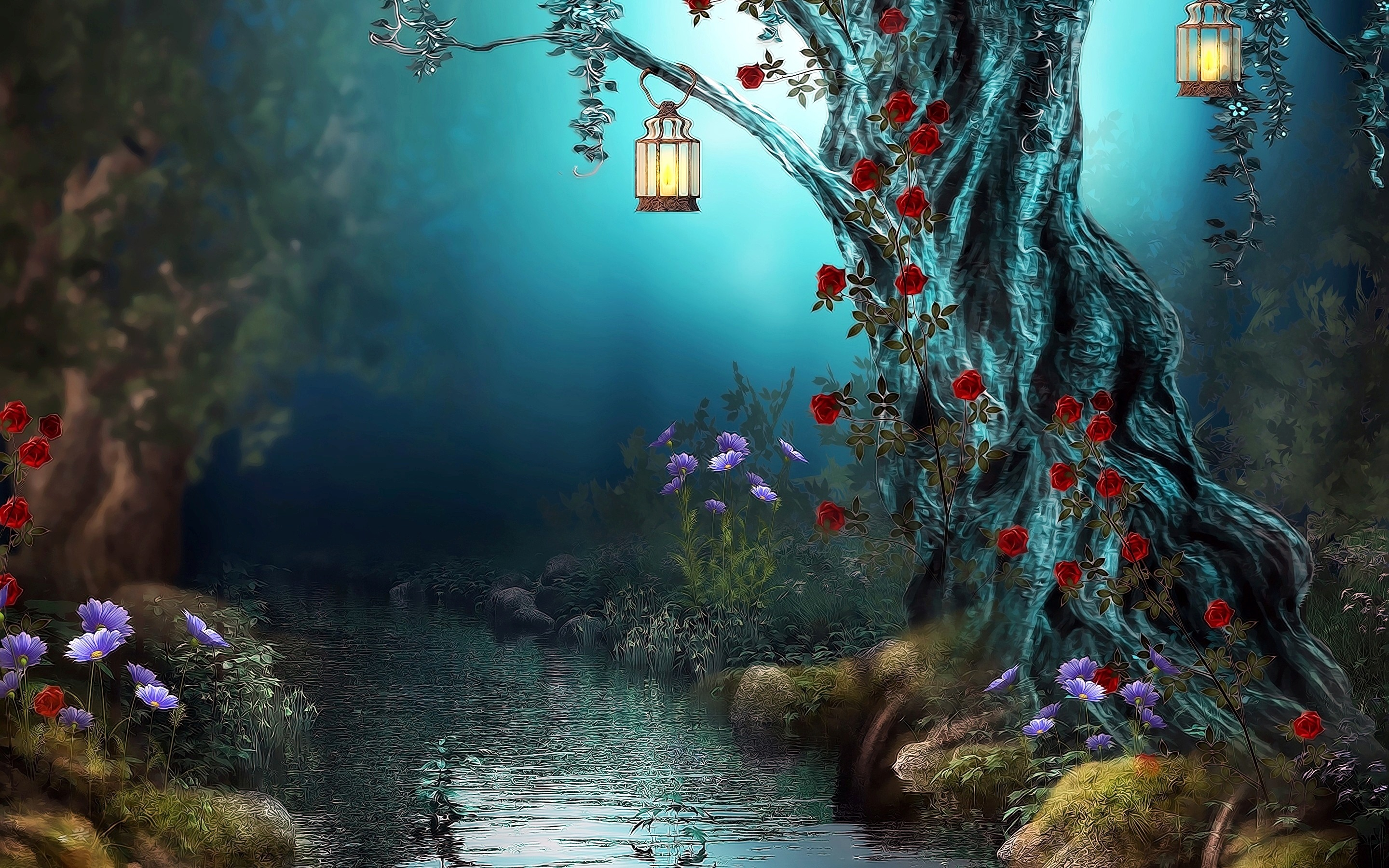 enchanted fairy forest - HD1600×900