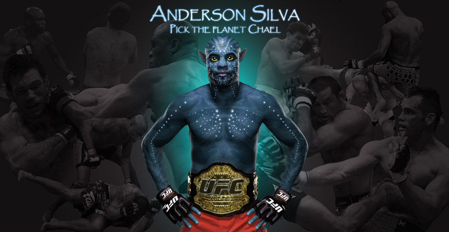 Anderson Silva Wallpaper by fingerlessfred on deviantART 900x466