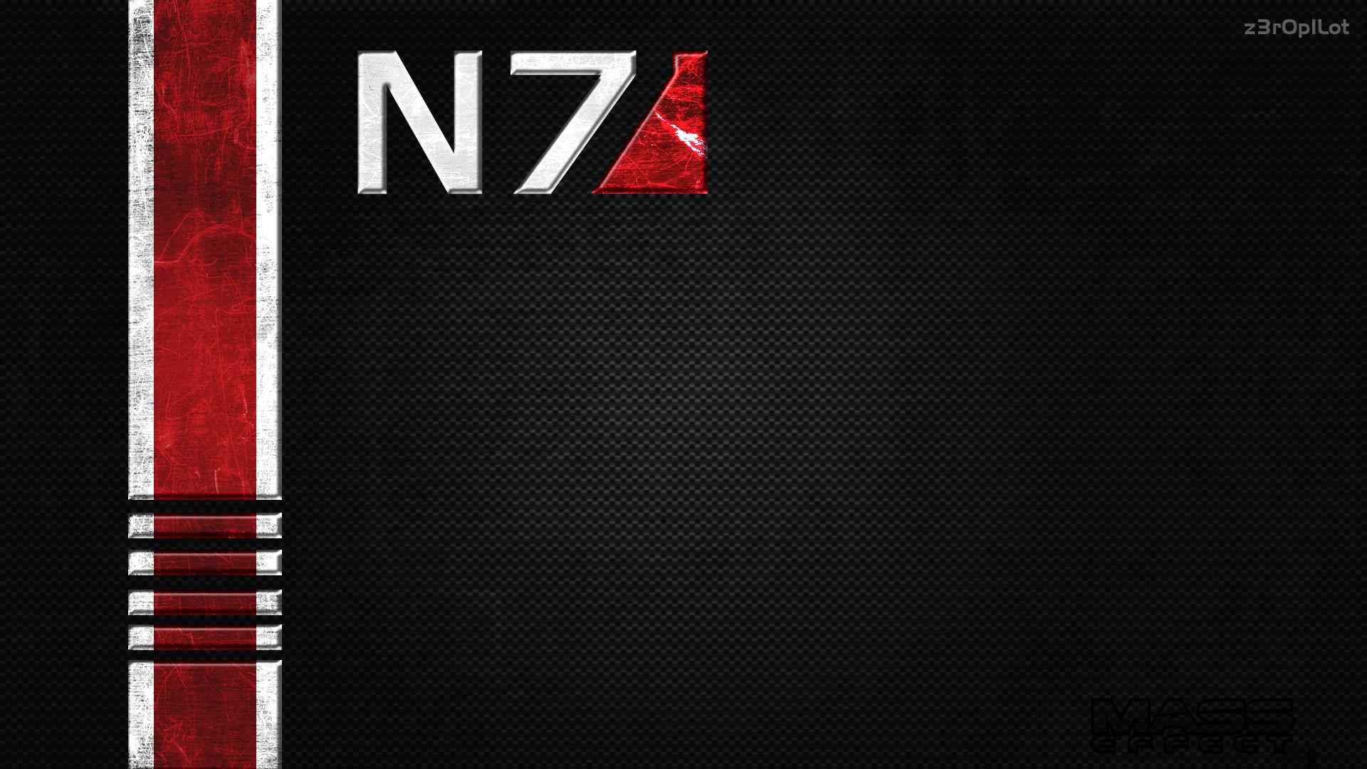 Mass Effect 3 N7 Wallpaper - WallpaperSafari