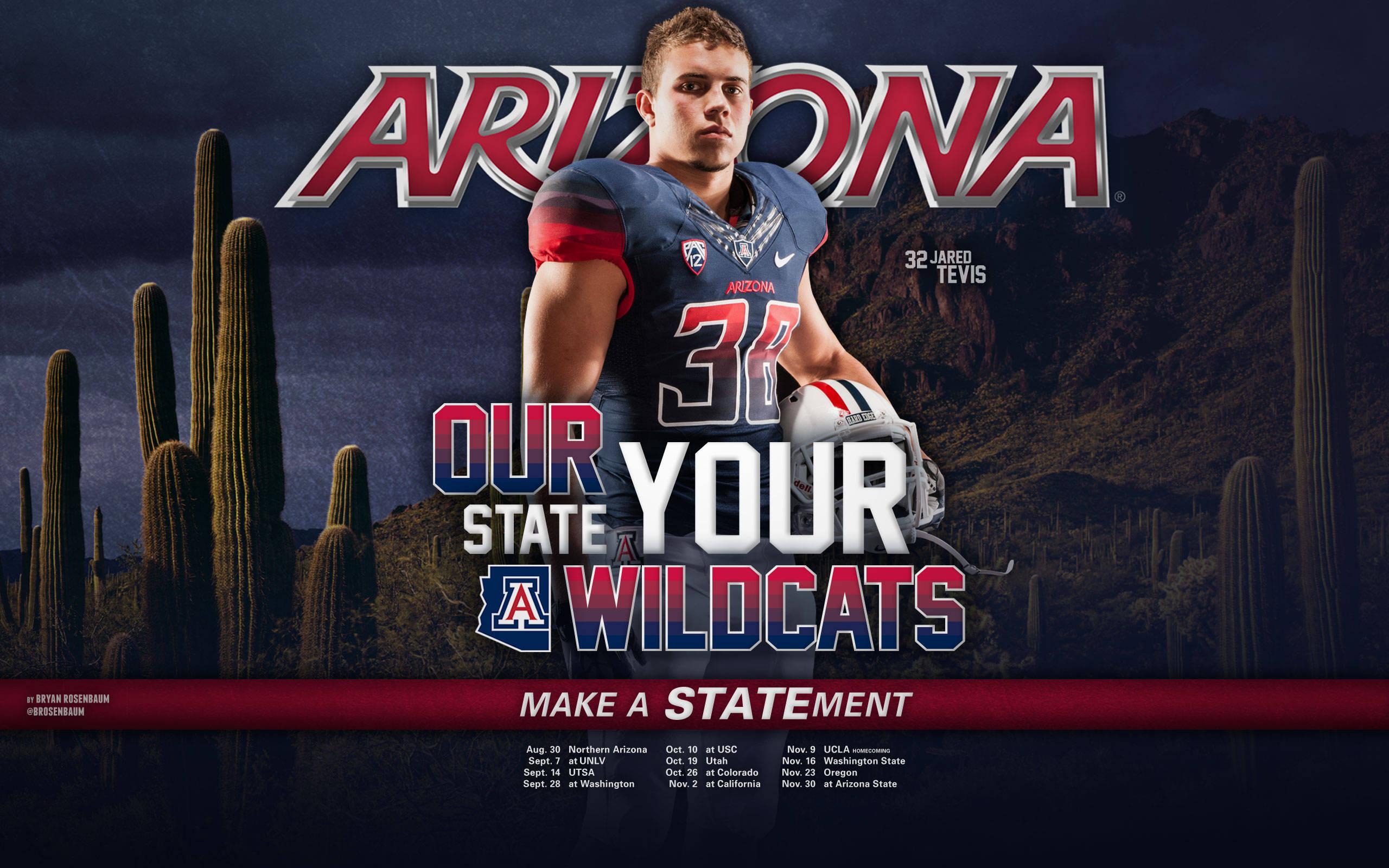 Asu Football Wallpaper: University Of Arizona Desktop Wallpaper