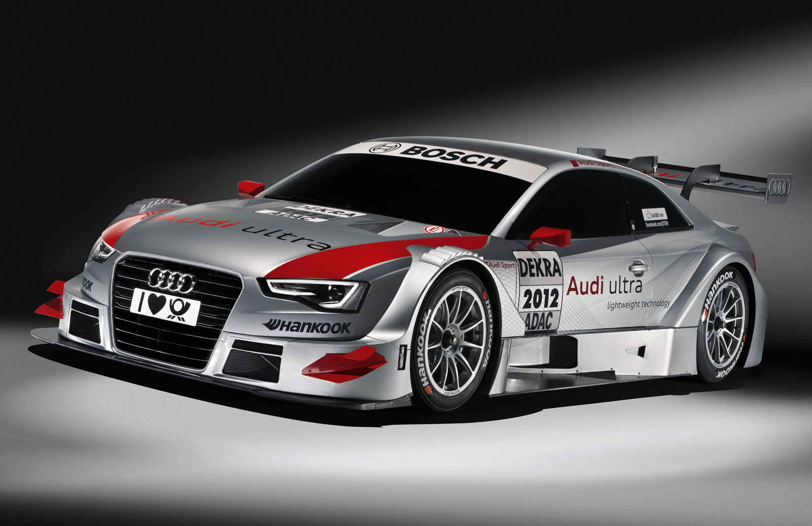 Audi A5 DTM Race Car hd Wallpapers 2012 1600x1037