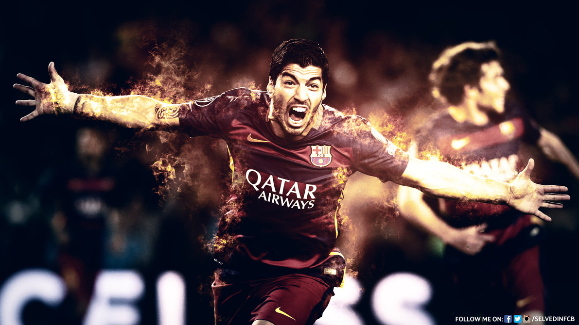 Luis Suarez   HD WALLPAPER 201516 by SelvedinFCB 1191x670