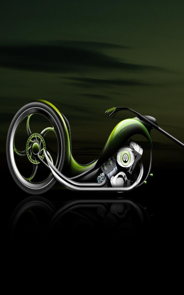 Bike Android Cell Phone Wallpaper 640x1024