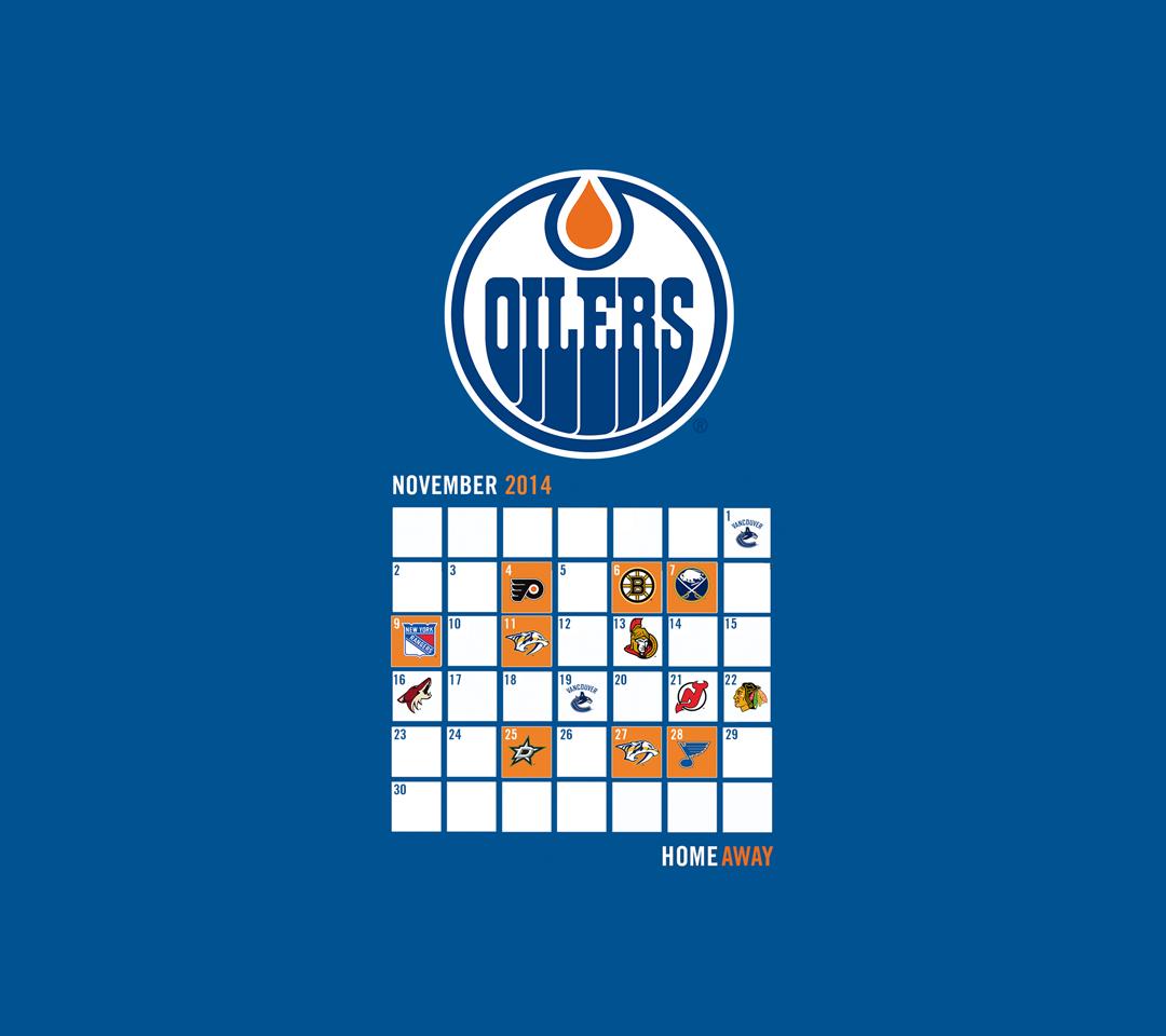 Edmonton Oilers Mobile Wallpaper   Edmonton Oilers   Multimedia 1080x960