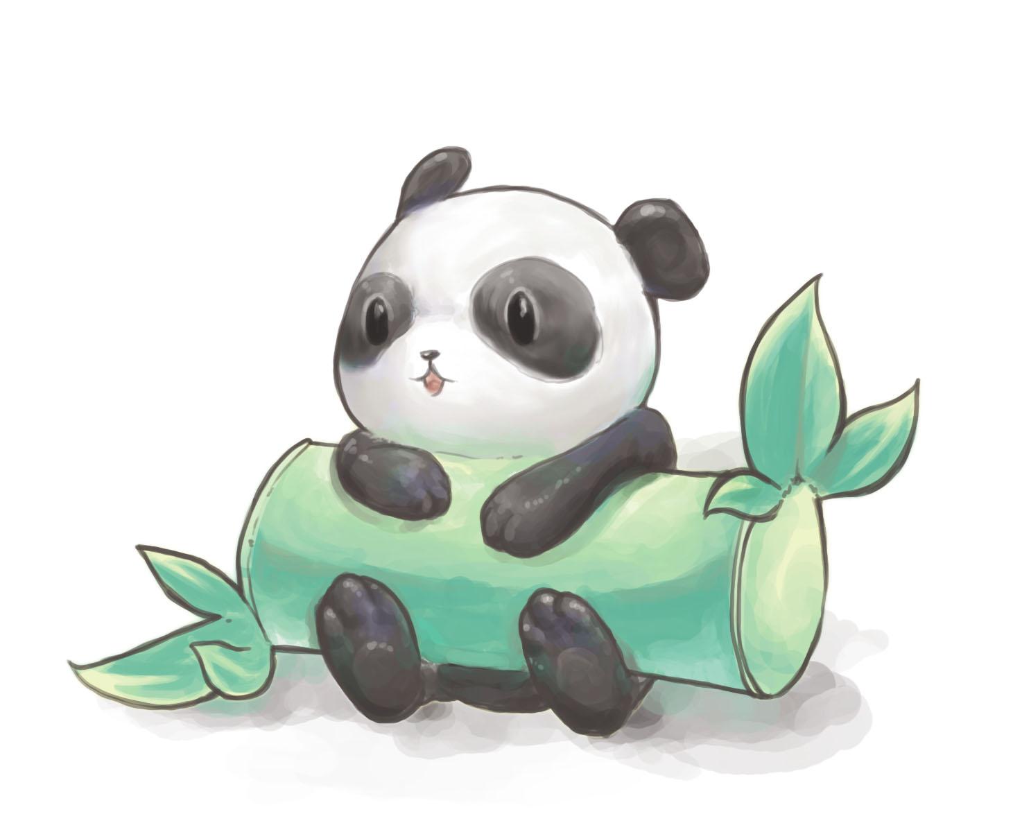 Cute Panda Drawings Tumblr 1461x1200