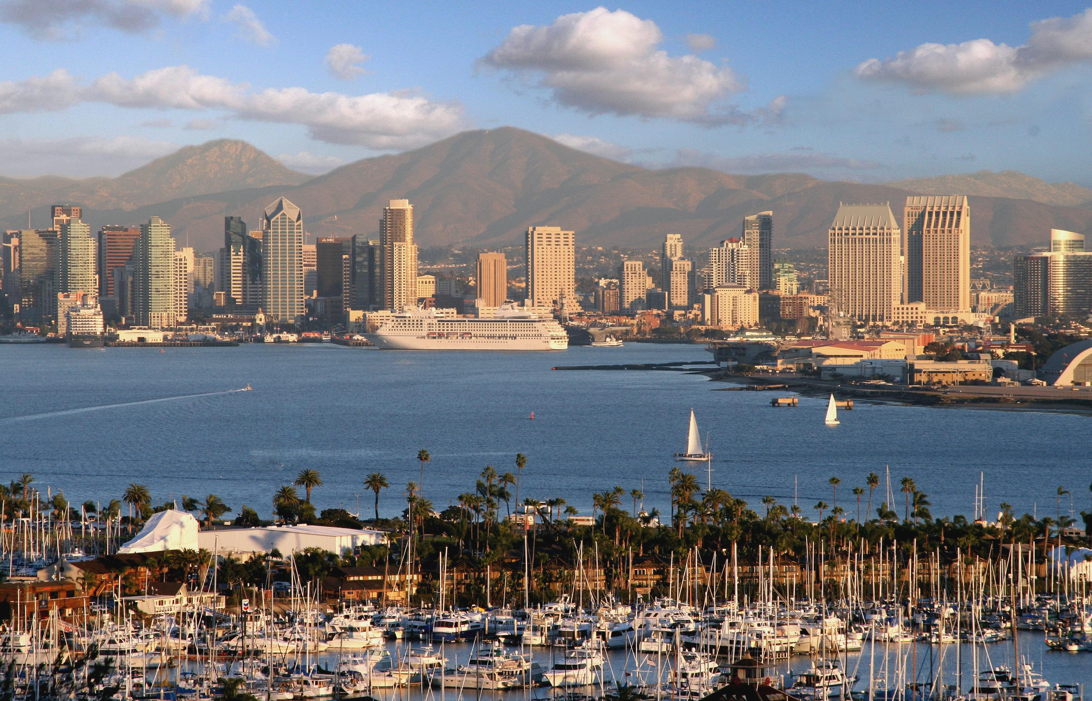 San Diego Wallpapers HD Download 3724x2392