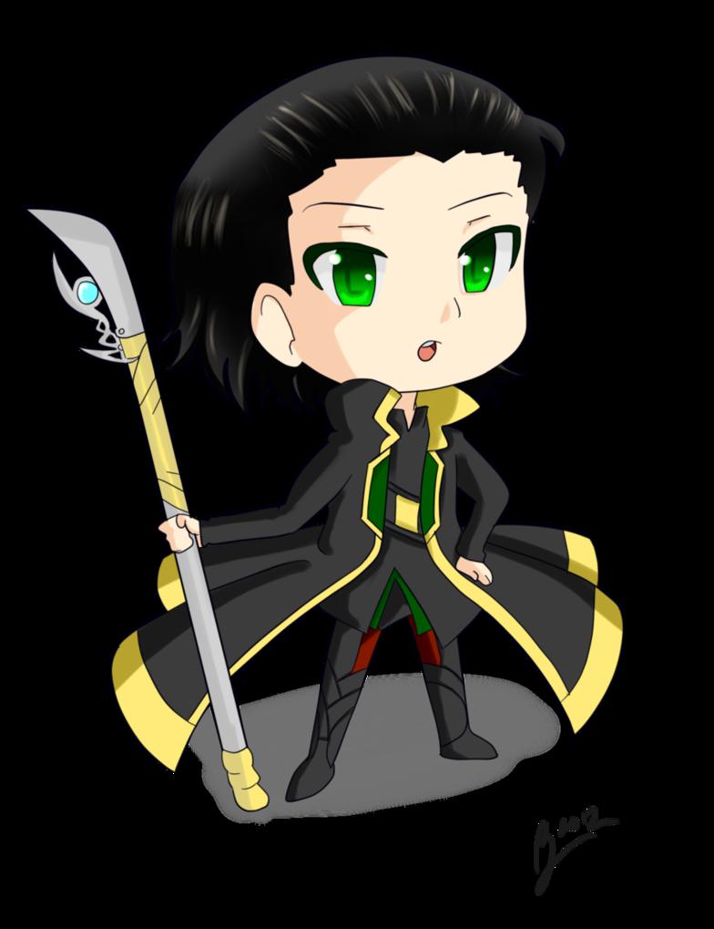 Chibi Loki by Vash4e 784x1019