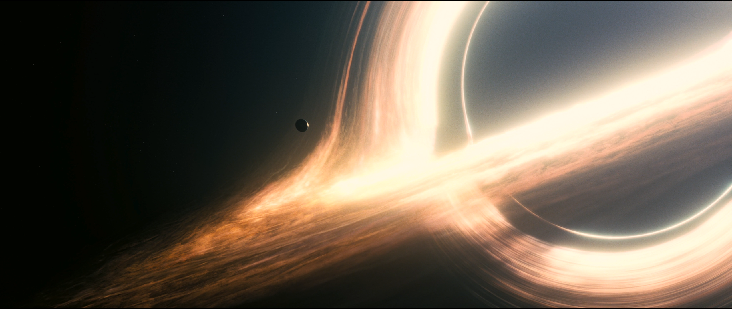 Interstellar Blackhole 2 Wallpaper 2560 x 1080 by ABAthedude 2560x1080