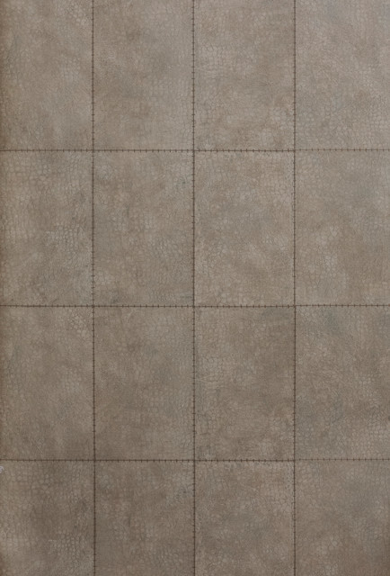 Stitched Faux Crocodile Skin Pattern Wallpaper Sample   Modern   Wall 434x640