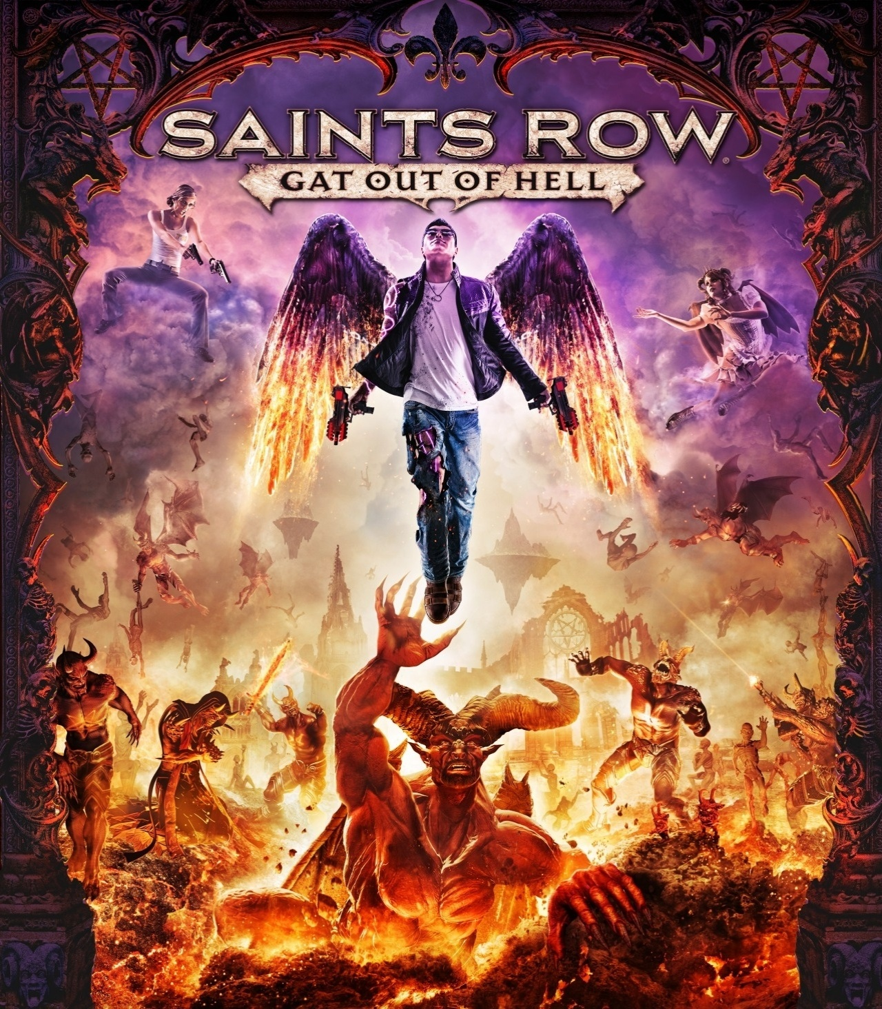 lbum Saints Row Gat Out of Hell   UOL Jogos 1280x1464