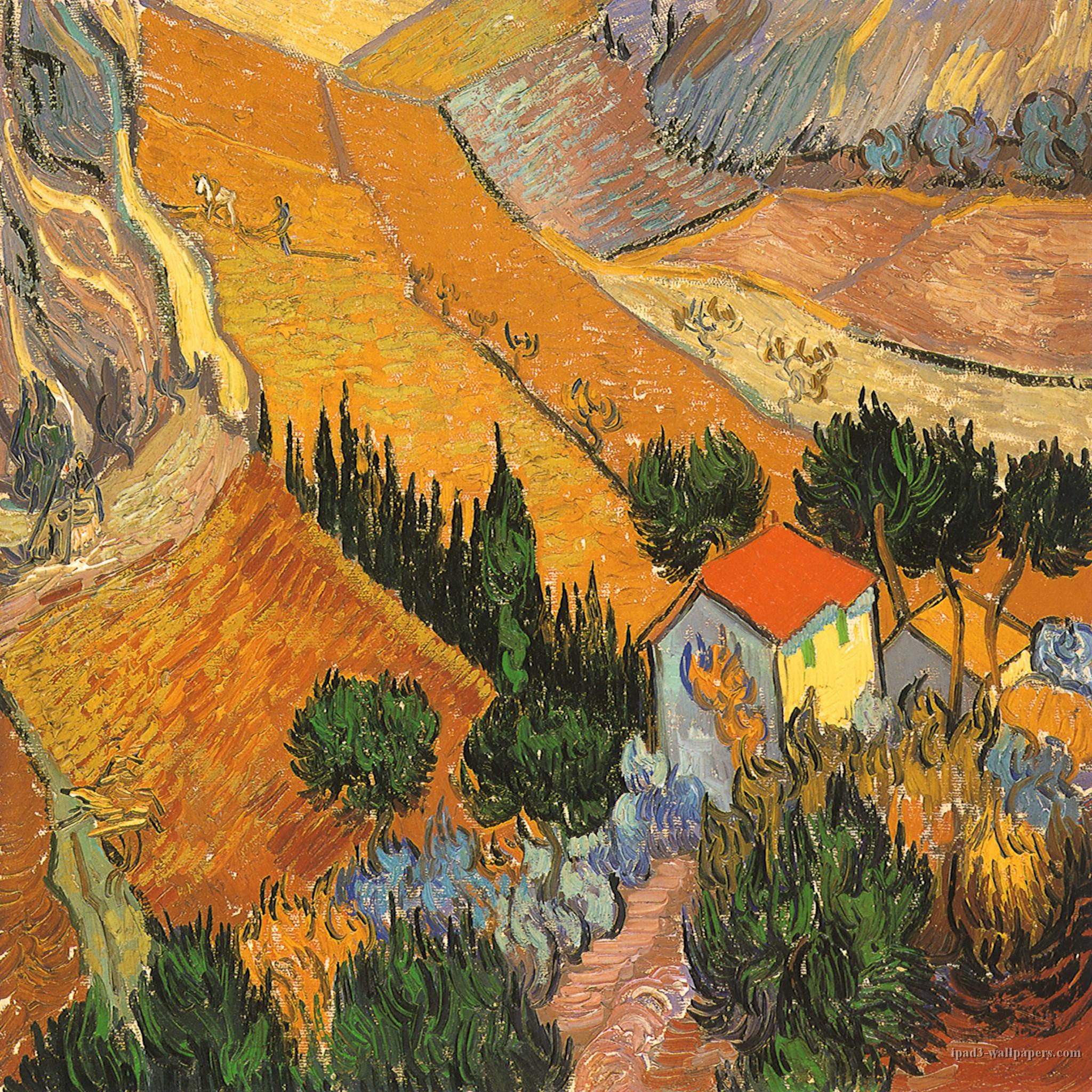 Van Gogh Wallpaper: Vincent Van Gogh Wallpaper