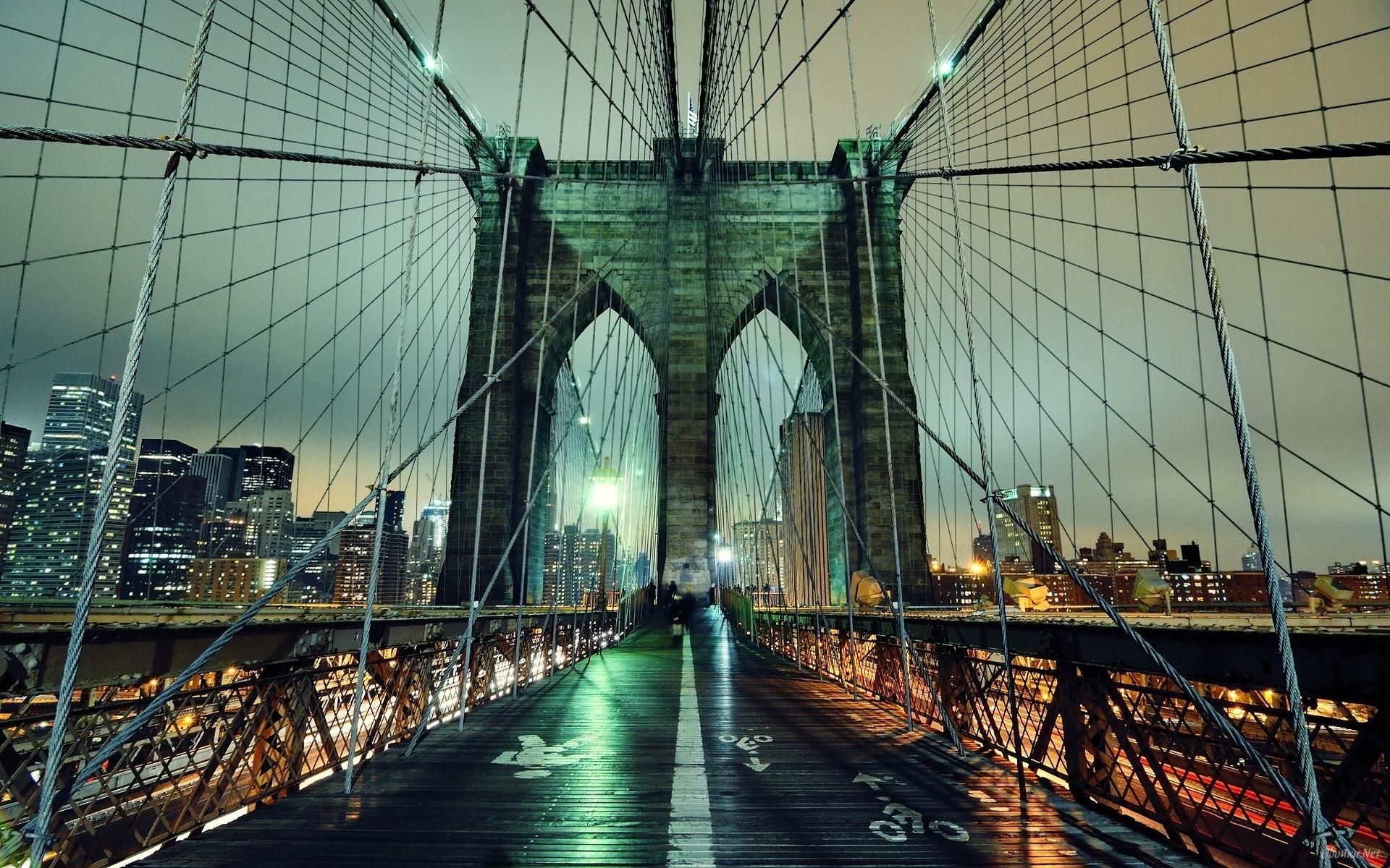 Brooklyn Bridge inside HD Desktop Wallpaper HD Desktop Wallpaper 1920x1200