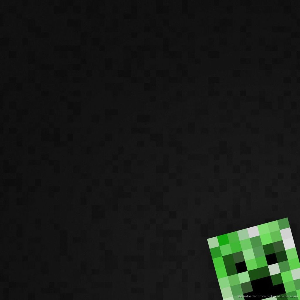 Download Minecraft Creeper Wallpaper Wallpaper For iPad 1024x1024