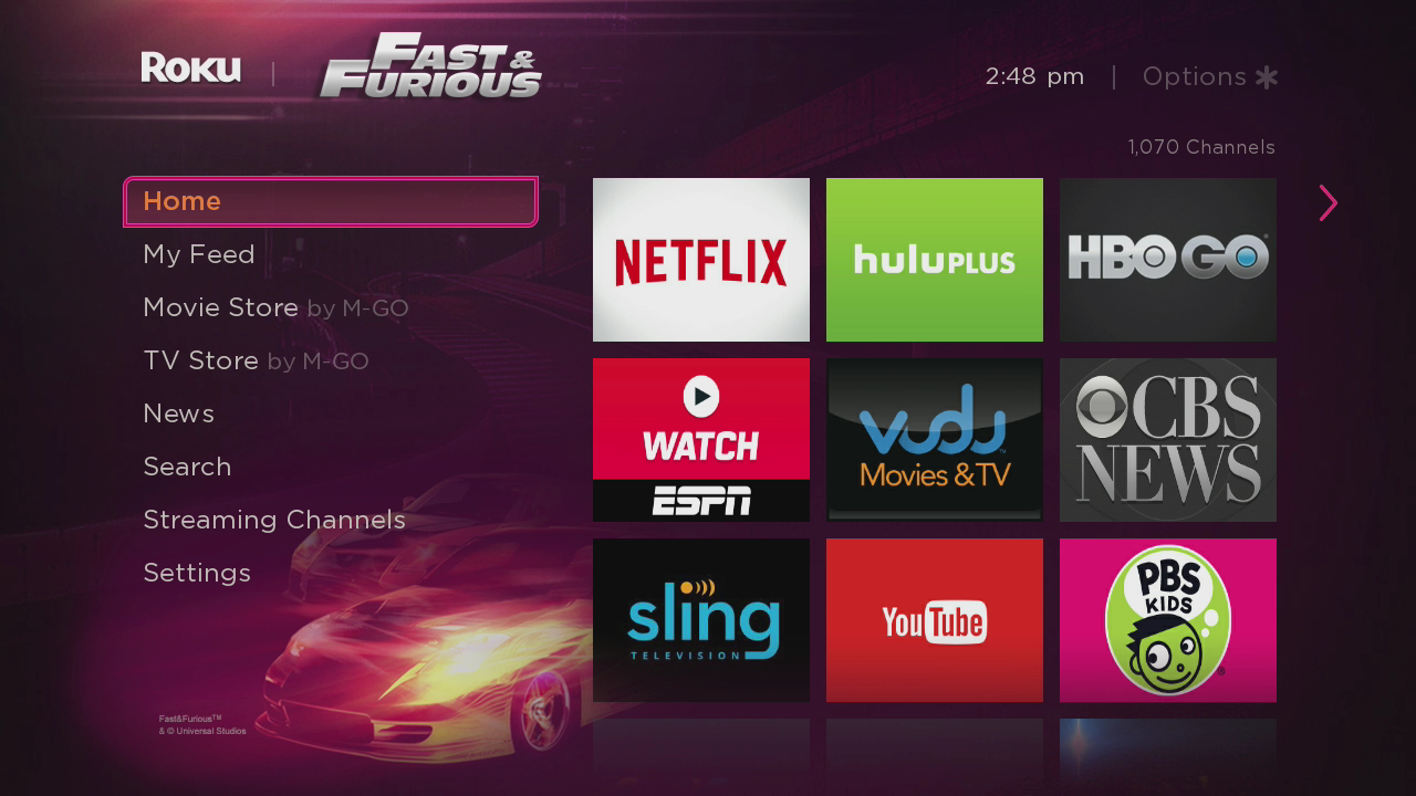 Now Launching Customize your Roku home screen with new custom 1280x720