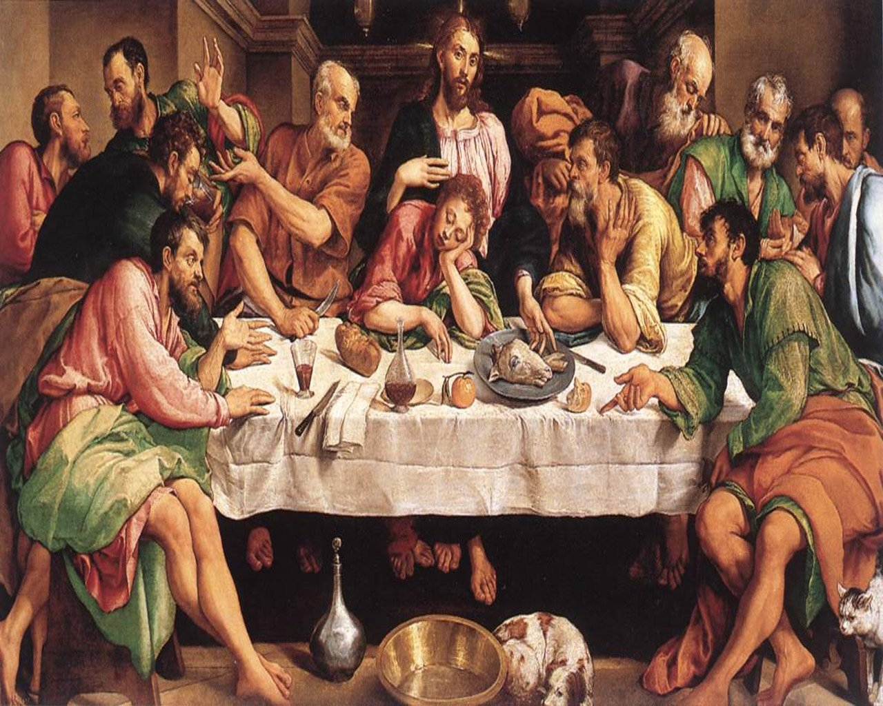 apresiasi seni the last supper