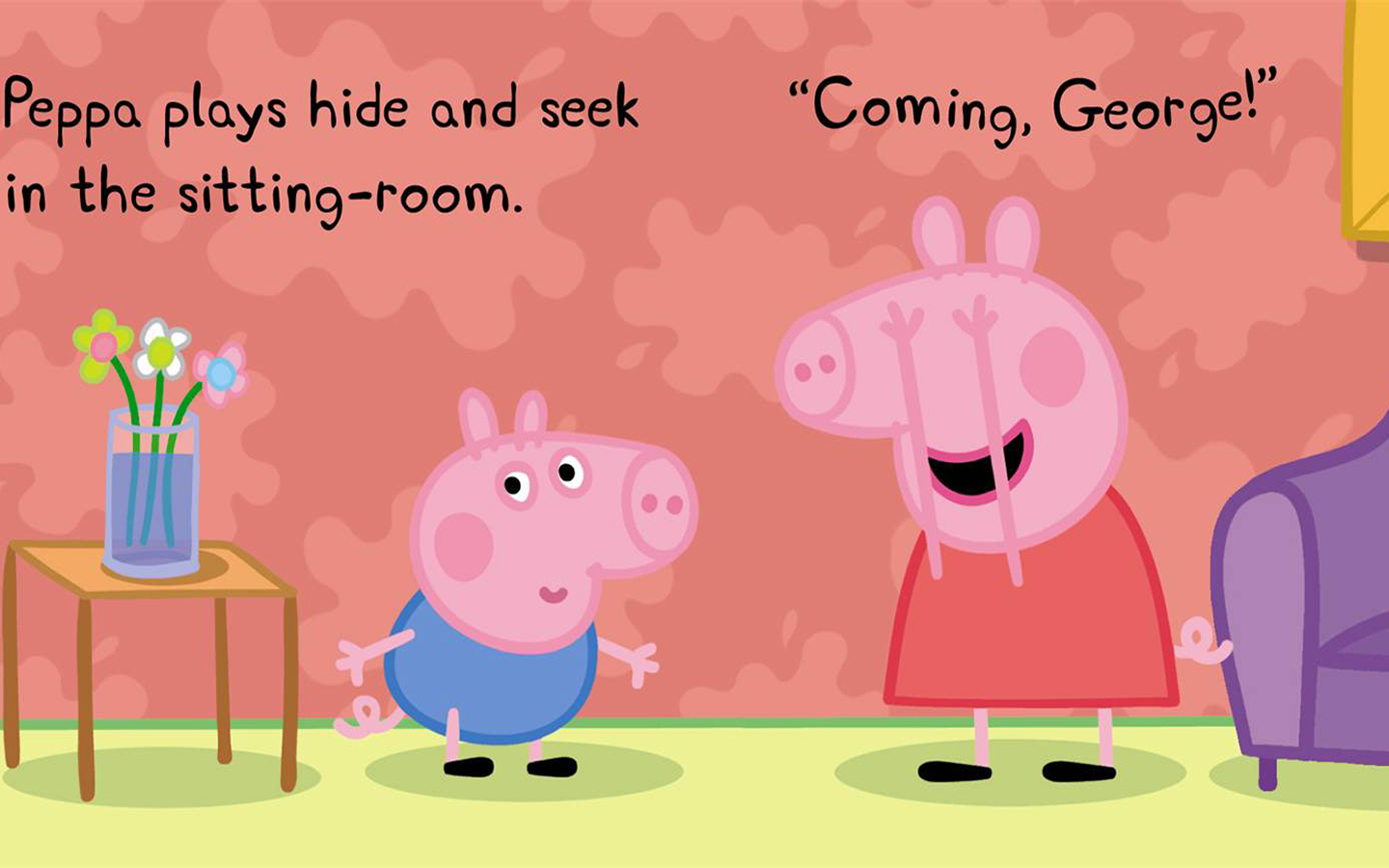 Peppa Pig Wallpaper Cake Ideas and Designs 1440x900