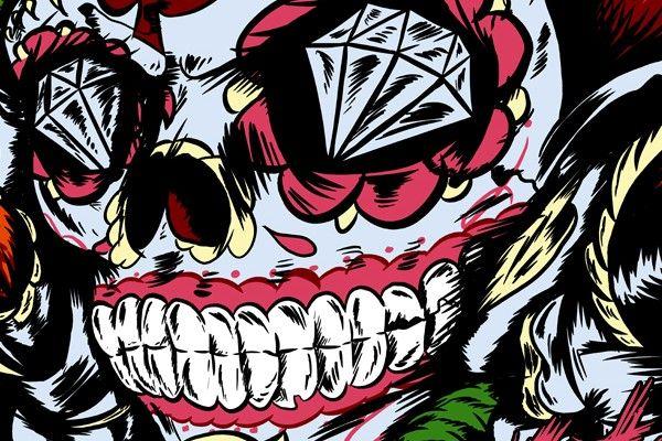 Sugar Skull Wallpaper Mexican Skull Wallpaper Pictures SUGAR 600x400