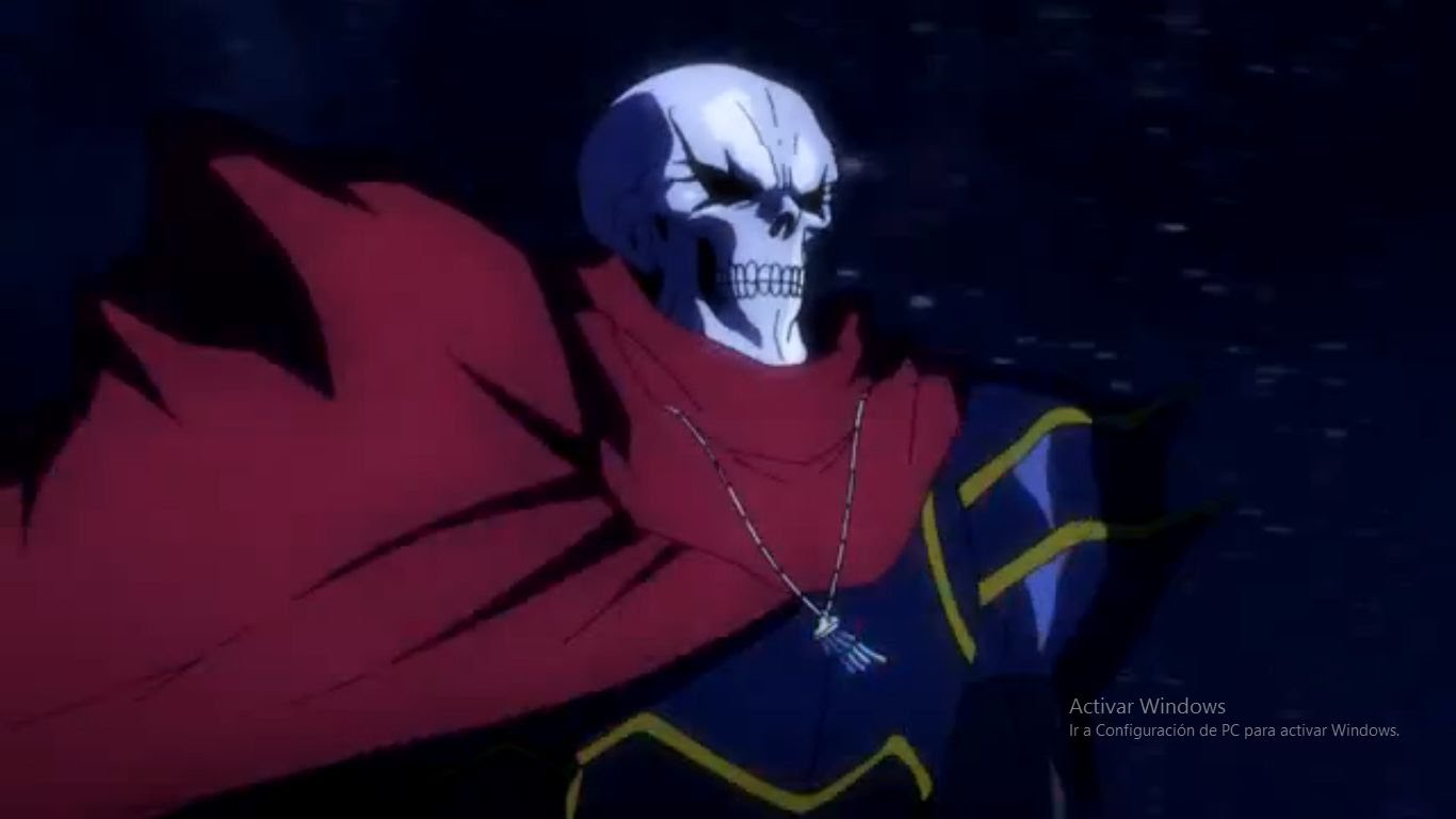 Overlord Anime HD Photo Wallpapers 1366x768