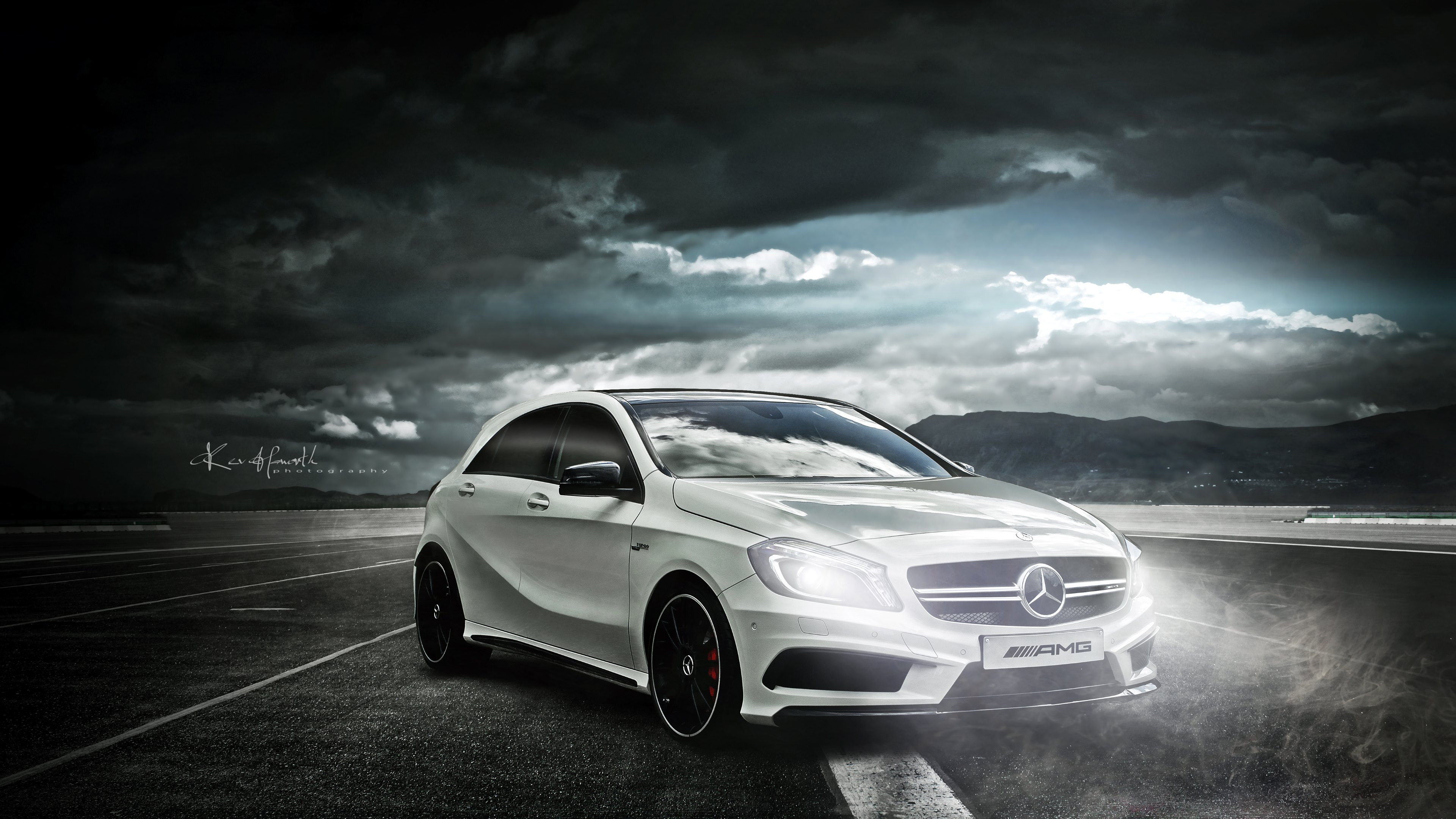 Mercedes AMG A45 uhd wallpapers   Ultra High Definition Wallpapers 3840x2160
