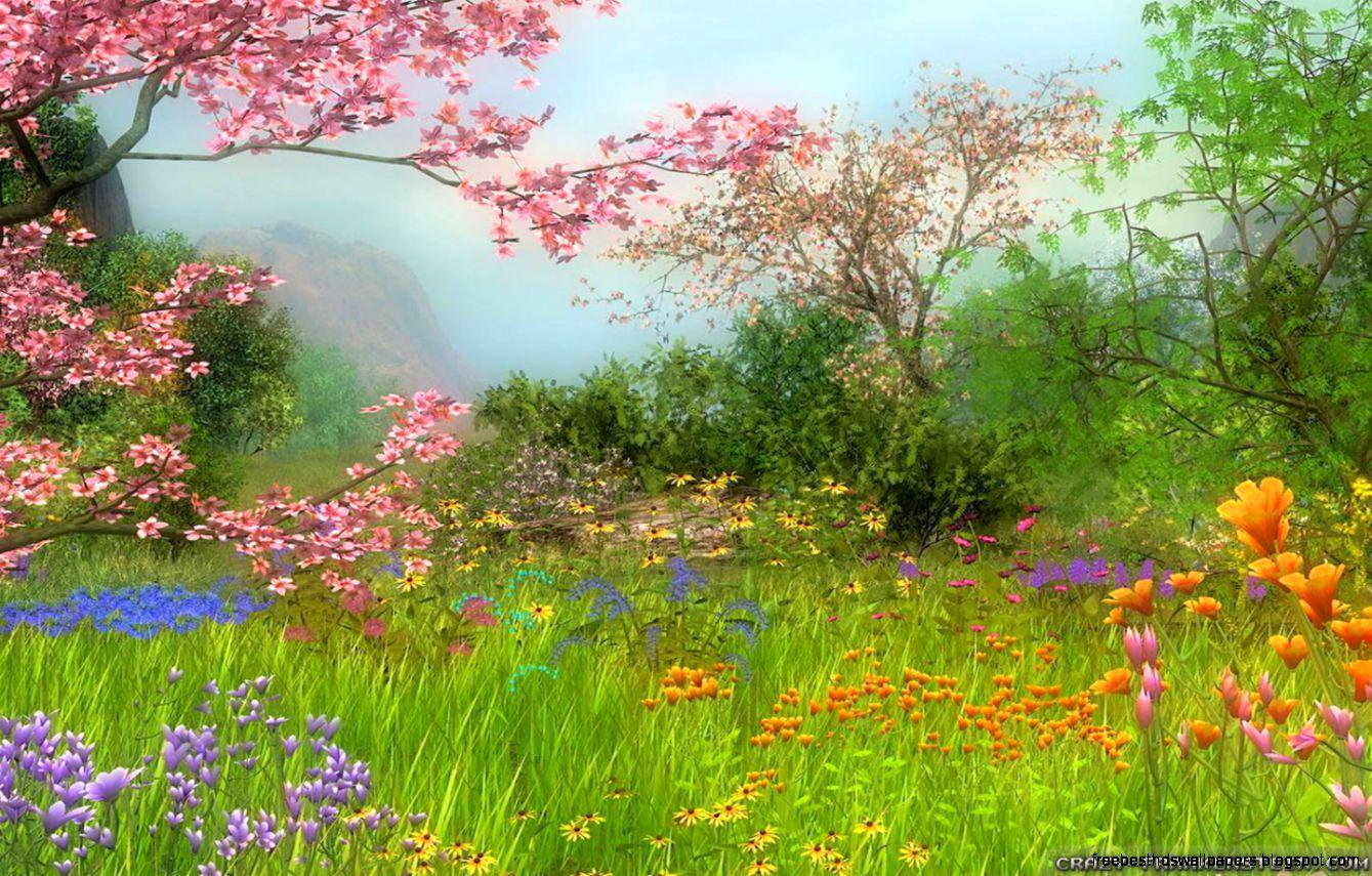 Country spring desktop wallpaper wallpapersafari - Free computer backgrounds for spring ...