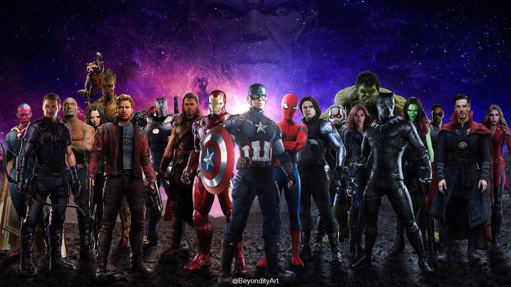 1024x576px Avengers Infinity War 2018 Wallpapers Wallpapersafari