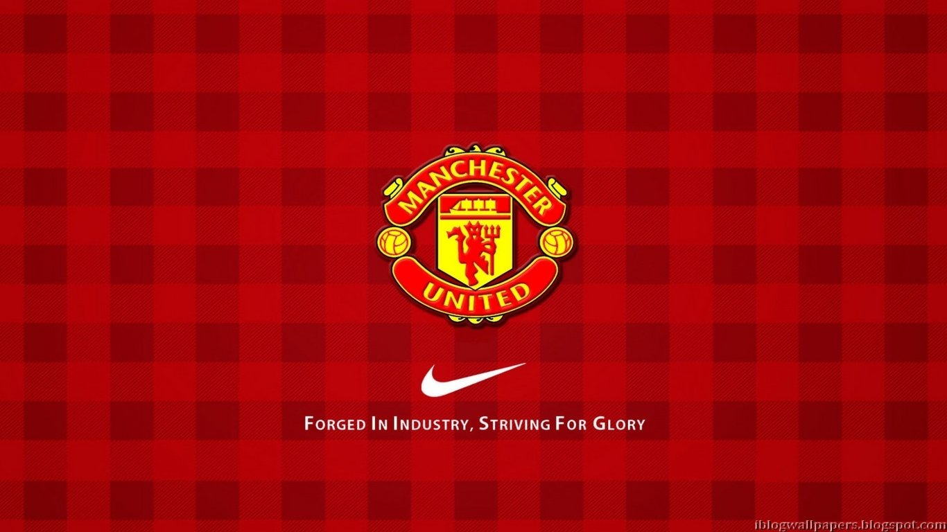 Man united wallpapers wallpapersafari manchester united logo wallpapers collection 1 1366x768 voltagebd Images