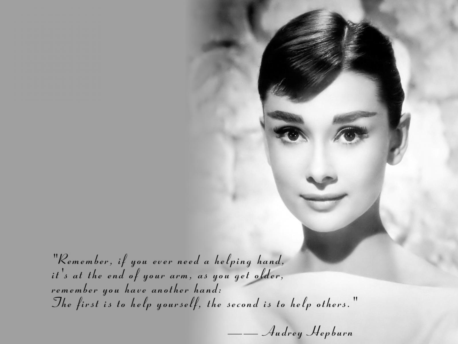 Wallpapers Photo Art Audrey Hepburn Wallpapers Audrey Hepburn 1600x1200