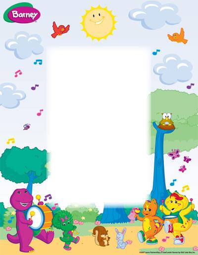 Barney Wallpaper Wallpapersafari