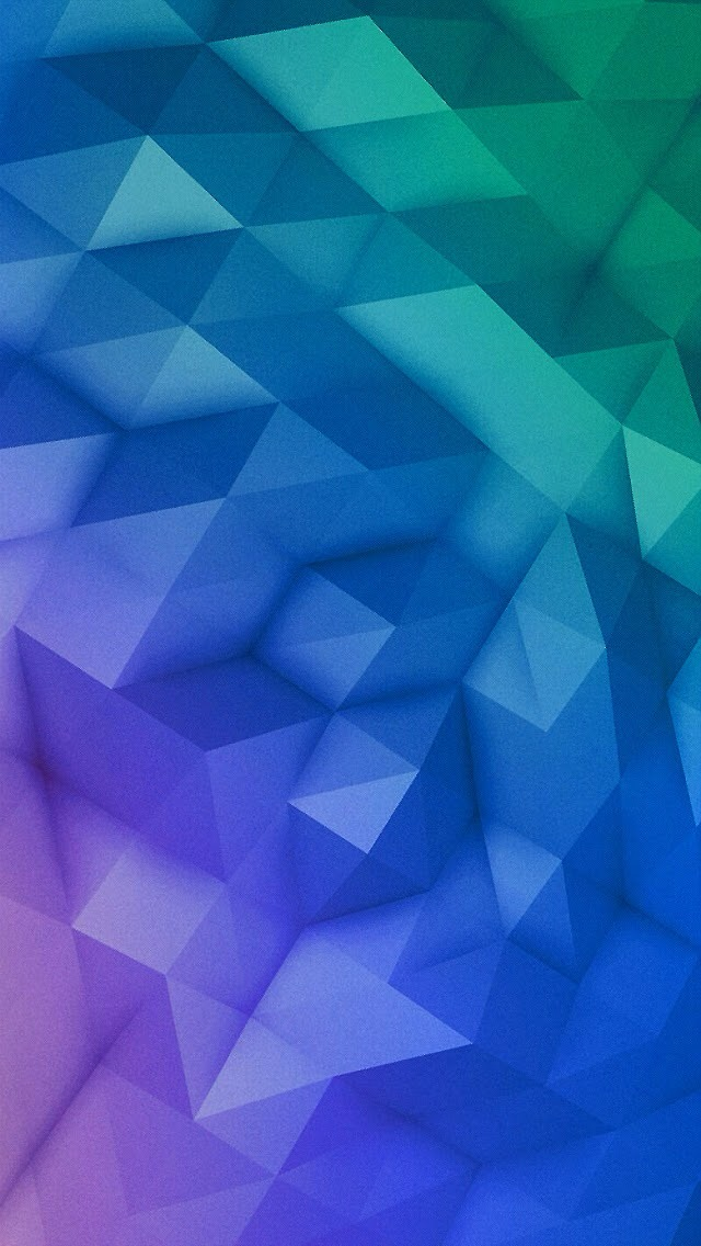 630913273a89 Download Purple Blue Green Triangles iPhone 5 Wallpaper 640x1136 ...