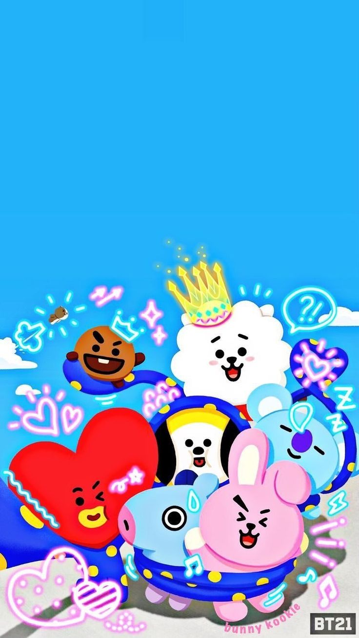 8 best BT21 images Wallpapers Bts bangtan 736x1307