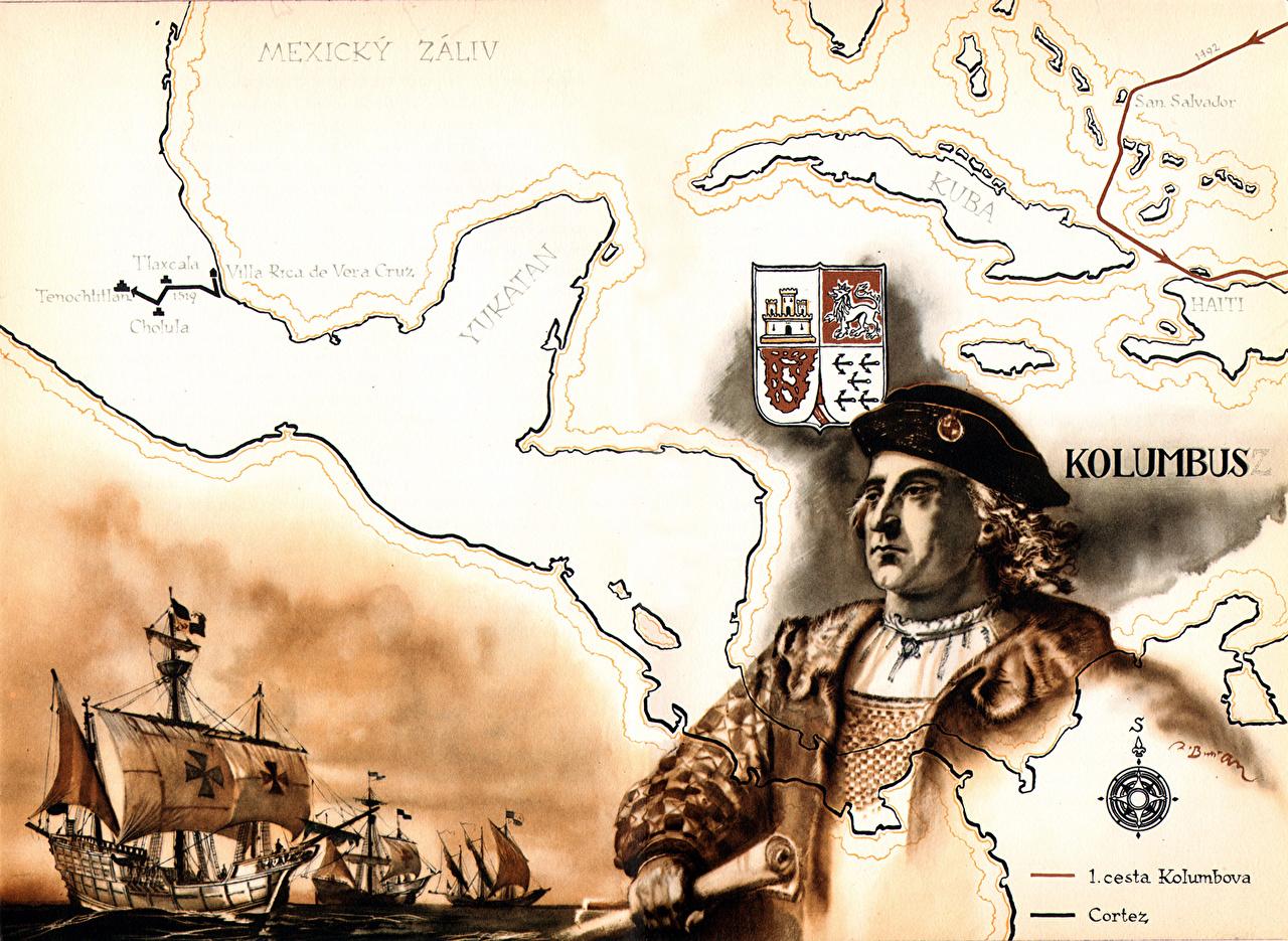 Photos Zdenek Burian Christopher Columbus Pictorial art 1280x935