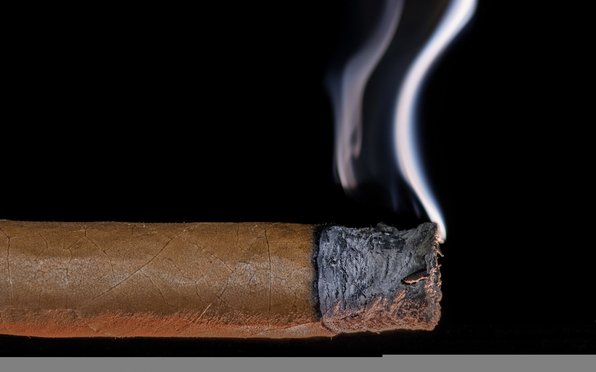 Wallpaper cigar smoke macro wallpapers macro   download 1920x1200