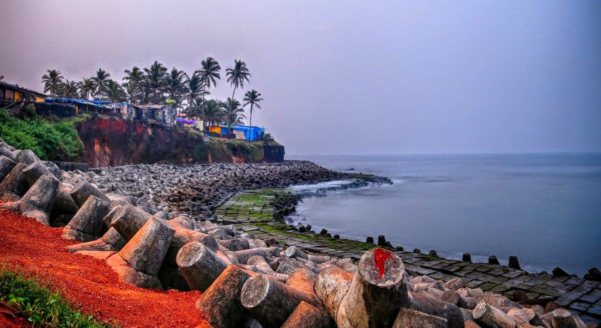 Goa Beach Caroline Landscape Desktop Wallpaper Hd wallpaper 1199x654