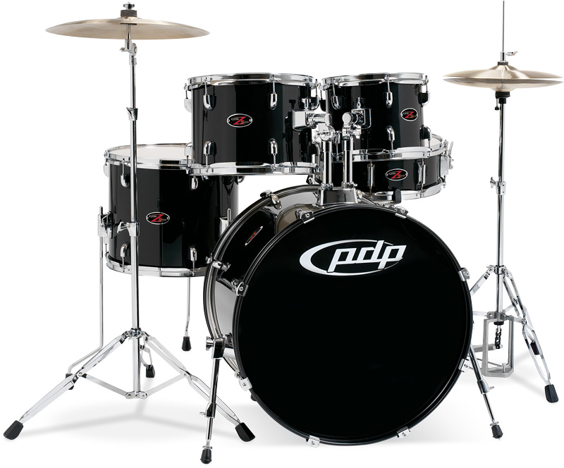 PDP Kits   Pacific Drums and Percussion Z5 Series   Carbon Black Wrap 800x664