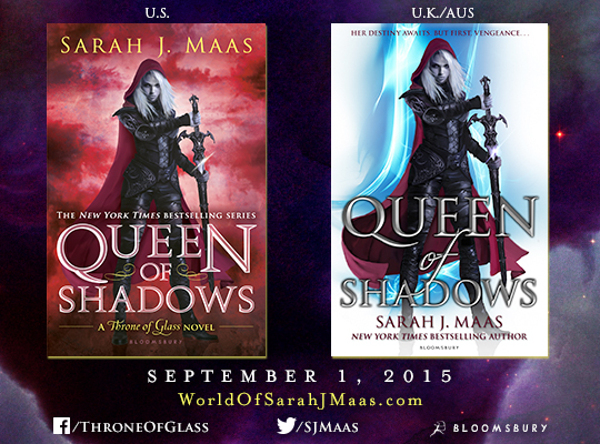 NEW COVER REVEAL FOR QUEEN OF SHADOWS BY SARAH J MAAS Silent 540x400