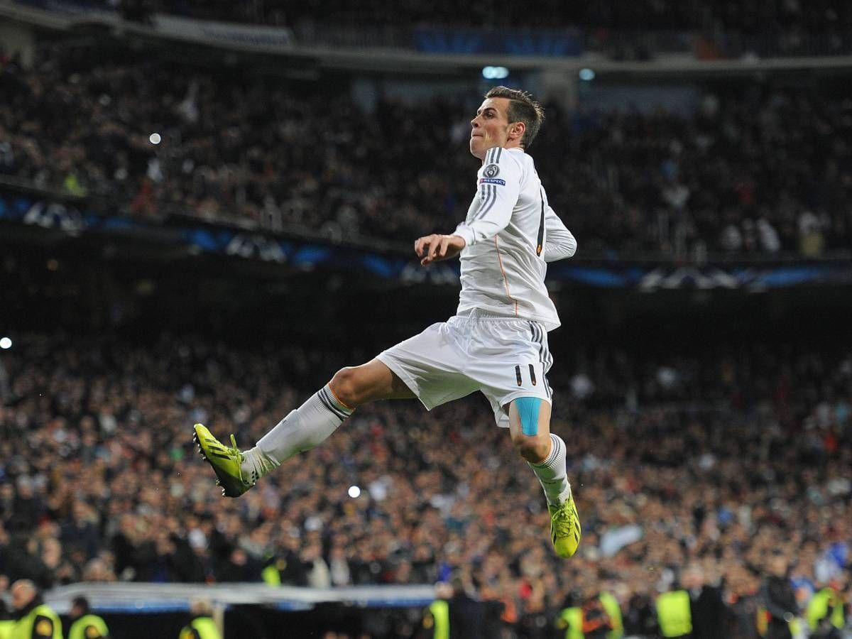 Gareth Bale Flying Celebration Hd Wallpaper Sports Gareth bale 1200x900