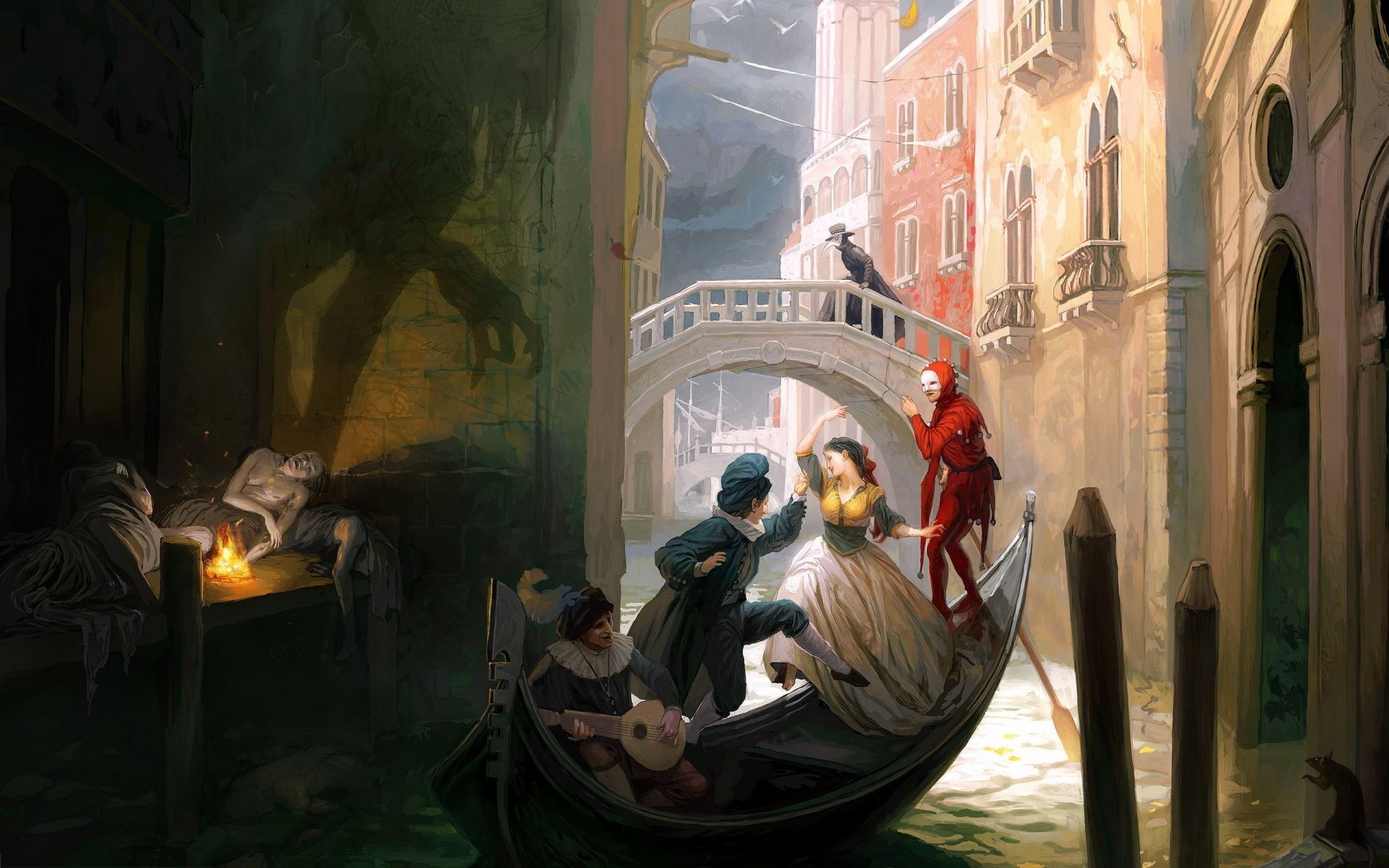 rich and poor painting 19201200 Paint Art HD Wallpapers 1920x1200