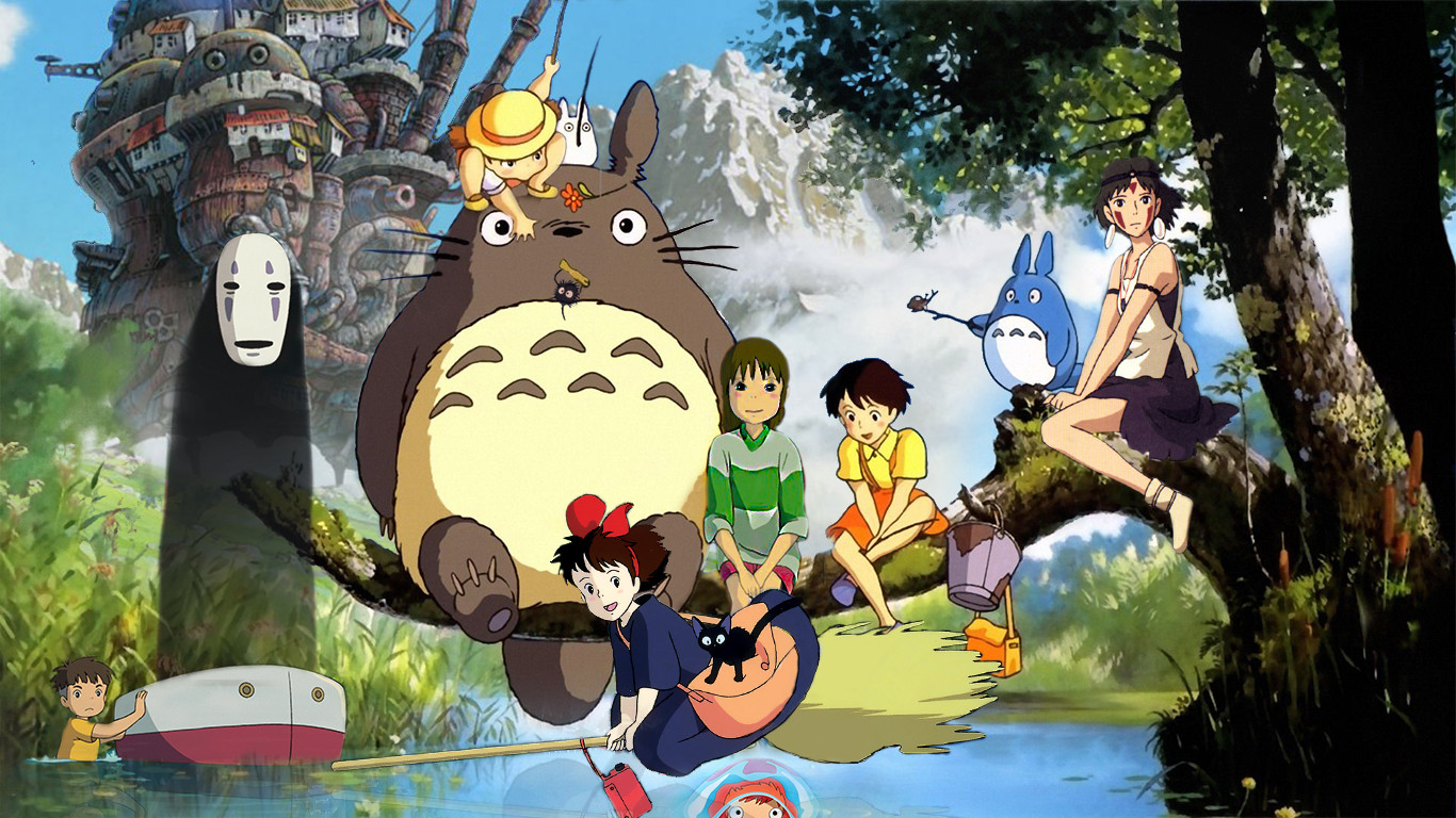 Studio Ghibli il libro Cinefilia Ritrovata 1366x768