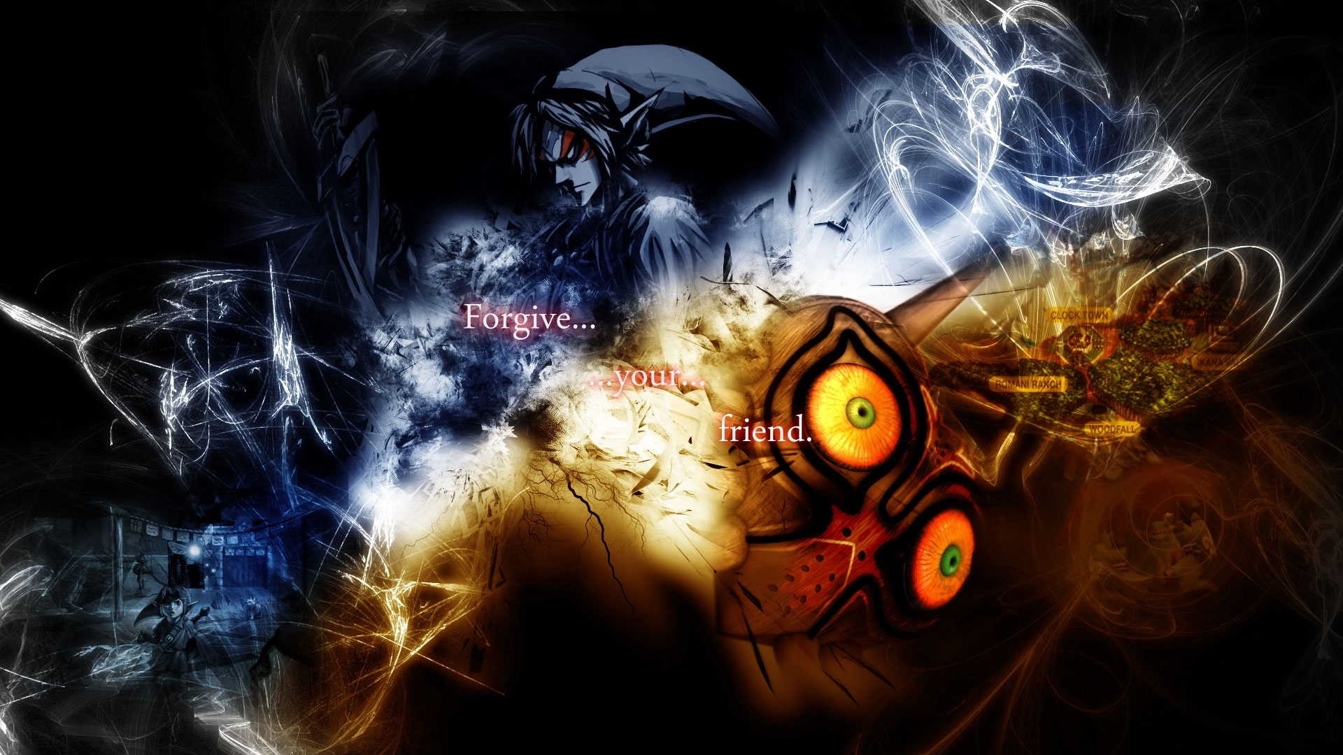 of zelda majoras mask majora majoras mask 1920x1080 wallpa Wallpaper 1920x1080