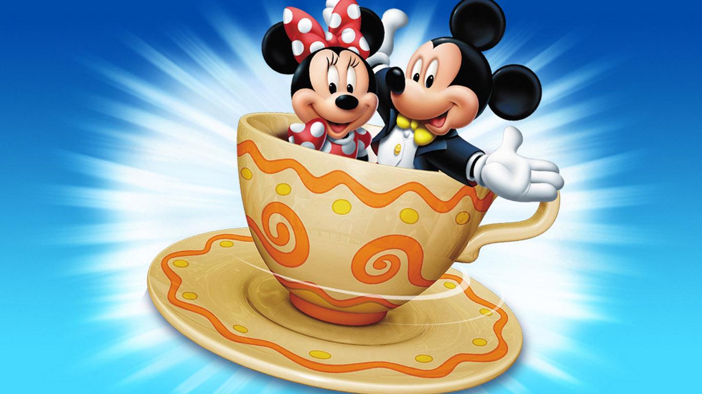 mickey mouse wallpaper Mickey Mouse Wallpapers Download 1366x768