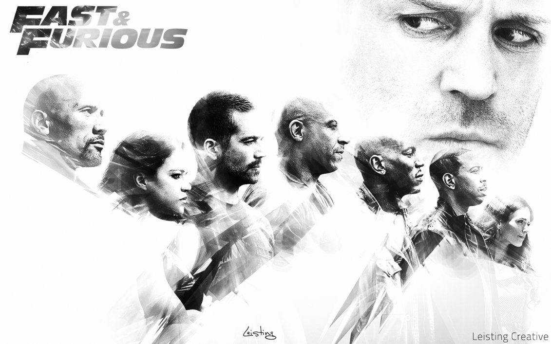 Fast and Furious 7 Wallpaper by LeistingCREATIVE 1131x707