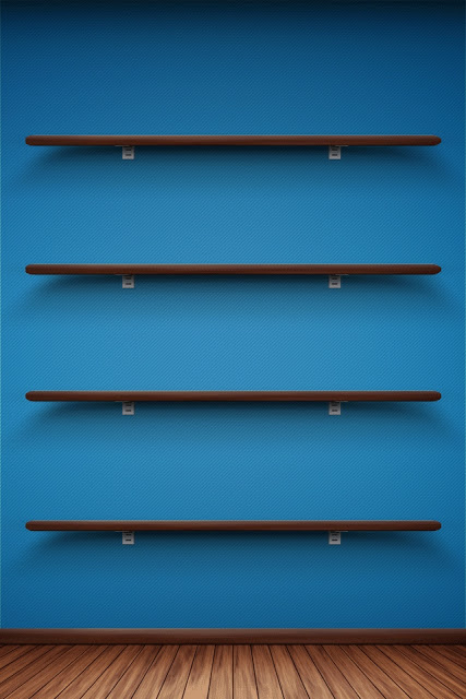 Free download shelf design home screen wallpapers for iphone