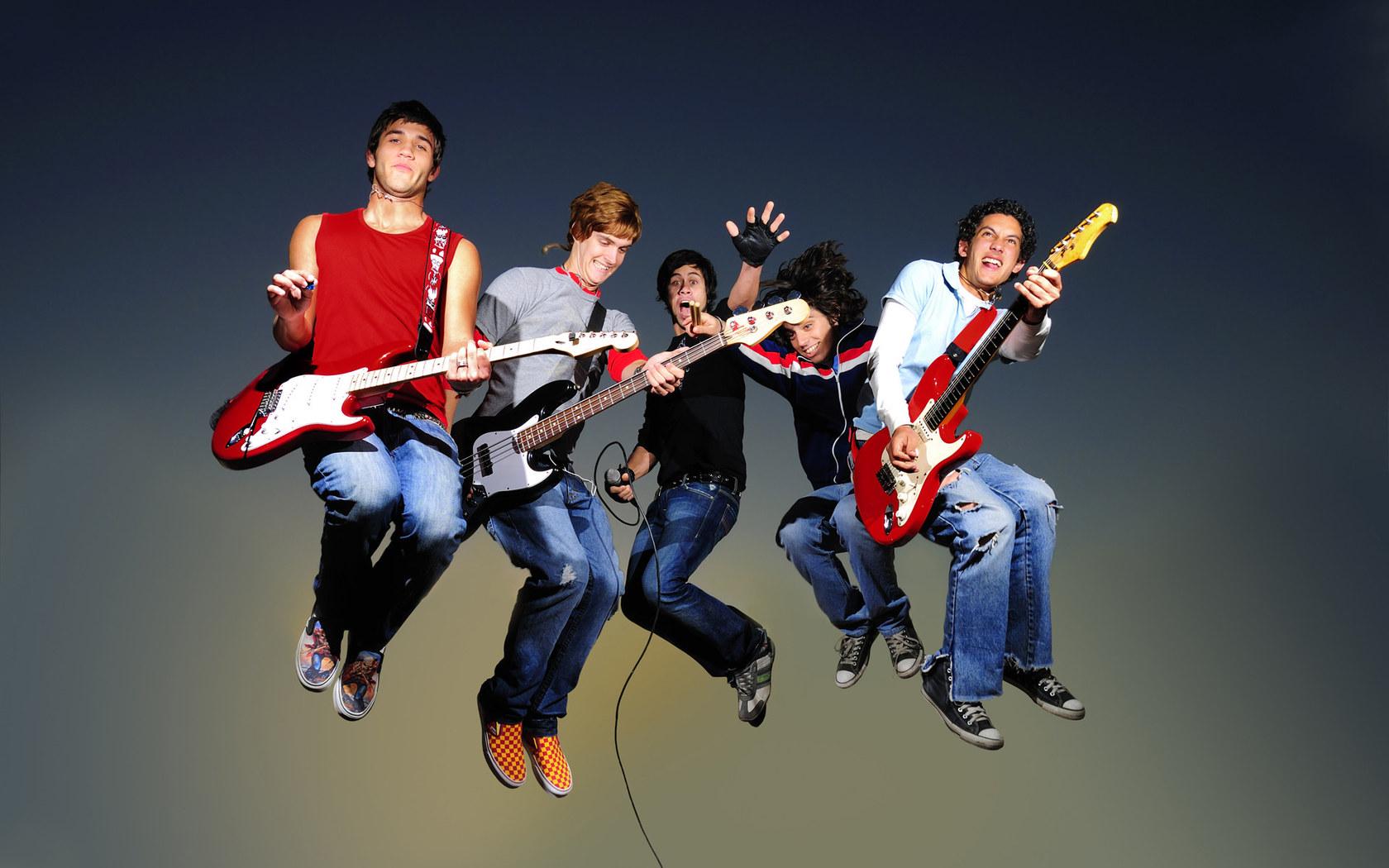 Rock Band Wallpapers  WallpaperSafari