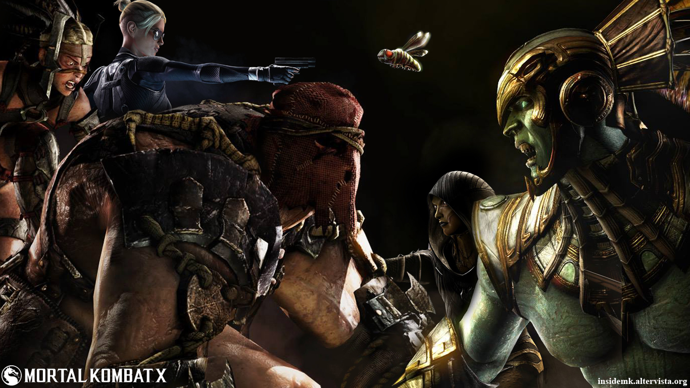MKX] New Mortal Kombat X Wallpaper By InsideMK Inside Mortal Kombat 1366x768