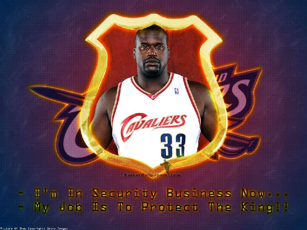 Shaquille ONeal Cavaliers Wallpaper   Cleveland Cavaliers Wallpaper 1024x768
