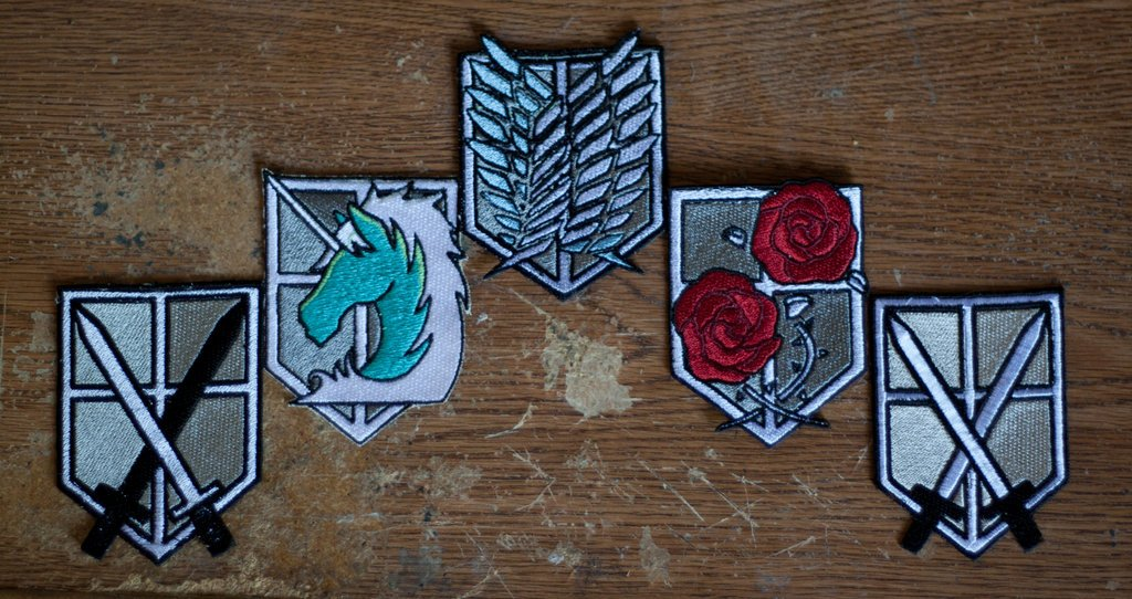 Attack on Titan Patches 1 of 1 by Cobheran 1024x542