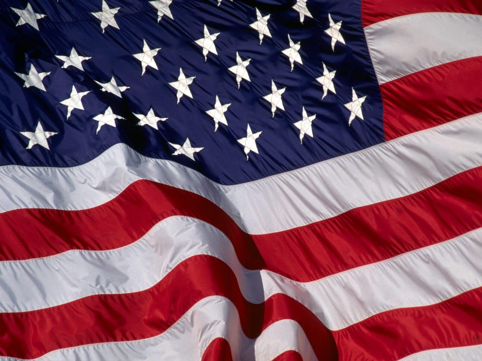 american flag screensaver