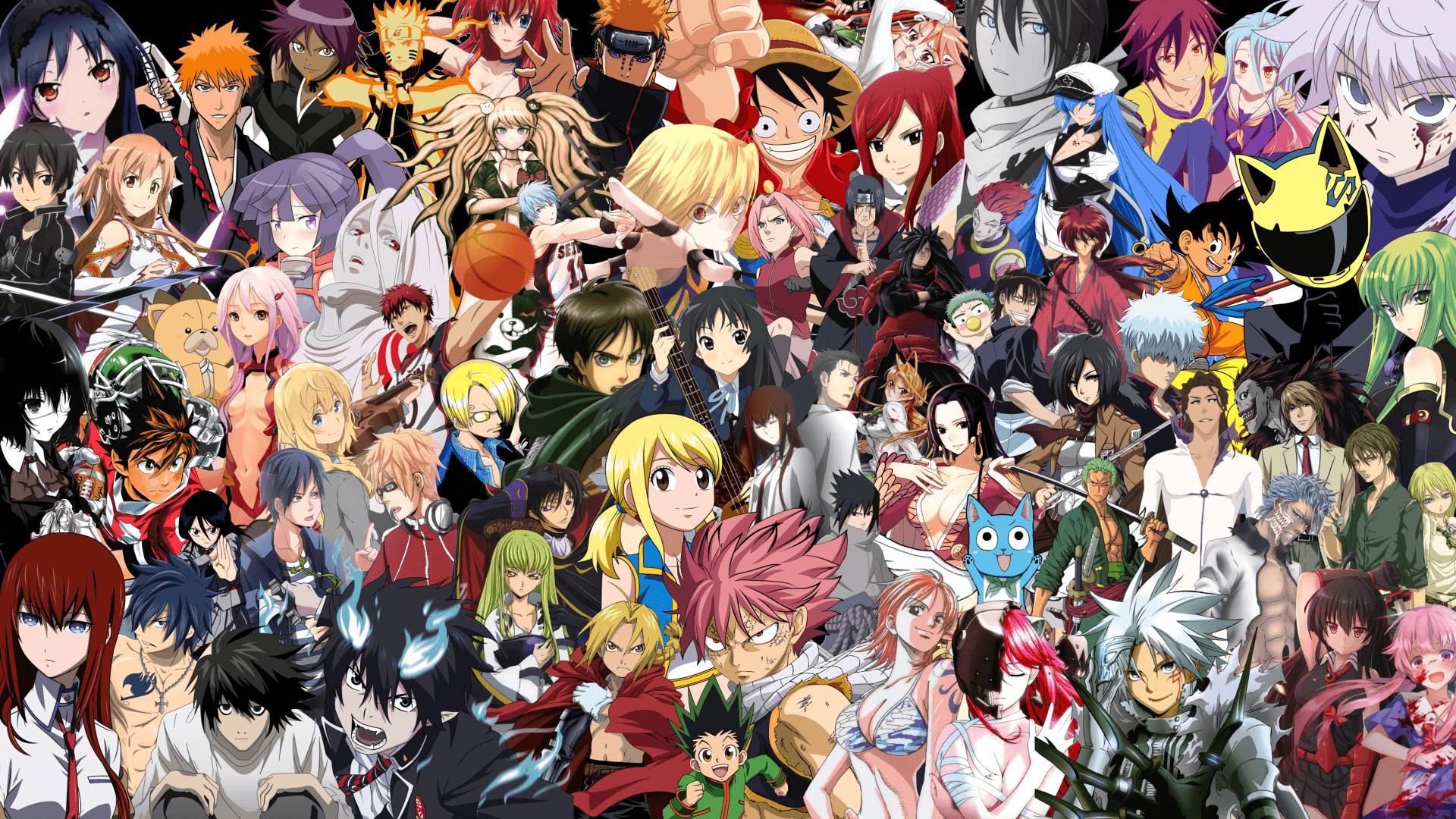 Anime Crossover Wallpapers   Top Anime Crossover Backgrounds 1920x1080